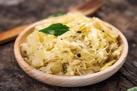 Sauerkraut zubereiten