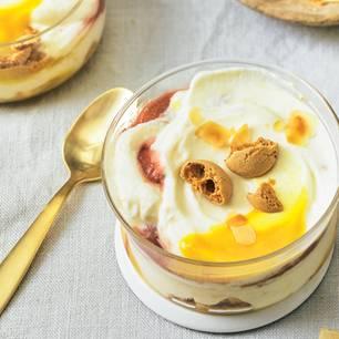 Rhabarber-Trifle
