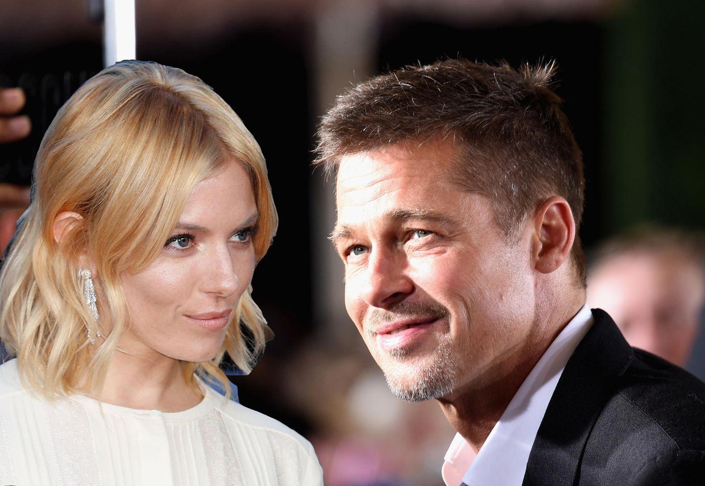 Liebes-Sensation! Datet Brad Pitt etwa Sienna Miller?