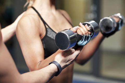 Frauen mit Muskeln