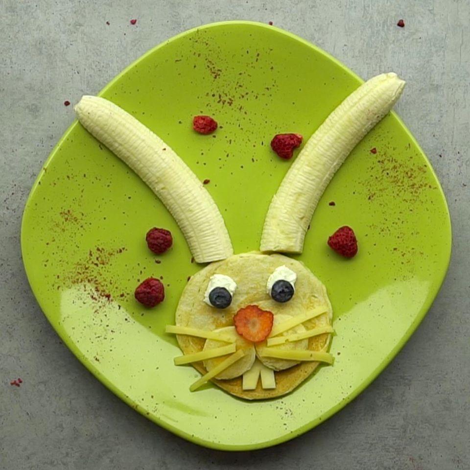 Osterhasen-Pfannkuchen