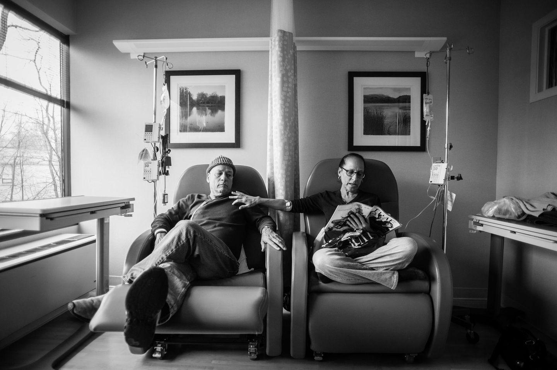 Nancy Borowicks Eltern in Behandlung