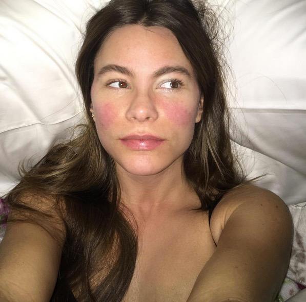 Sofia Vergara ohne Make-up
