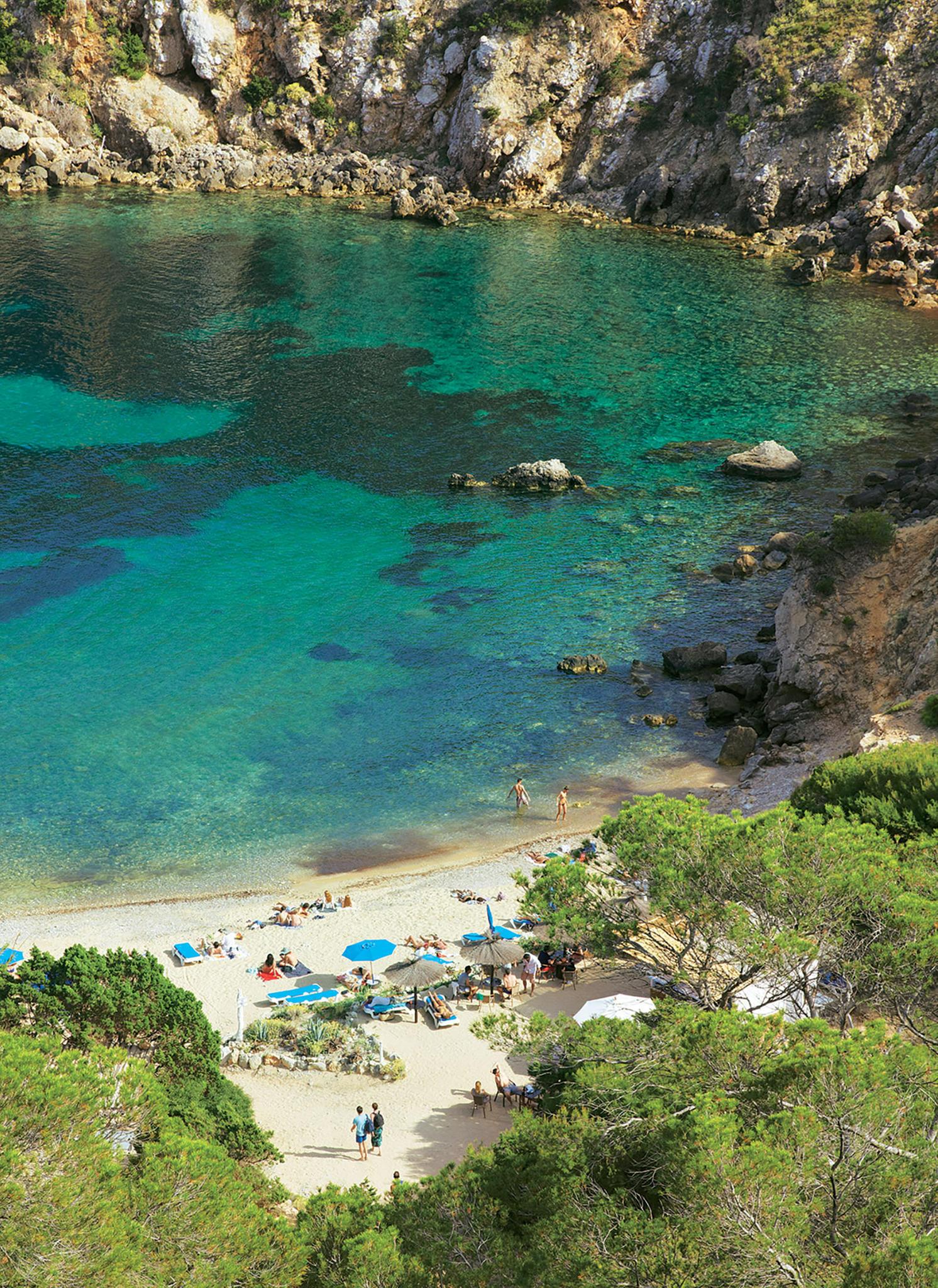 """Die Bucht """"Cala d'en Serra"""" im Inselnorden ist der Favorit unserer Autorin."""