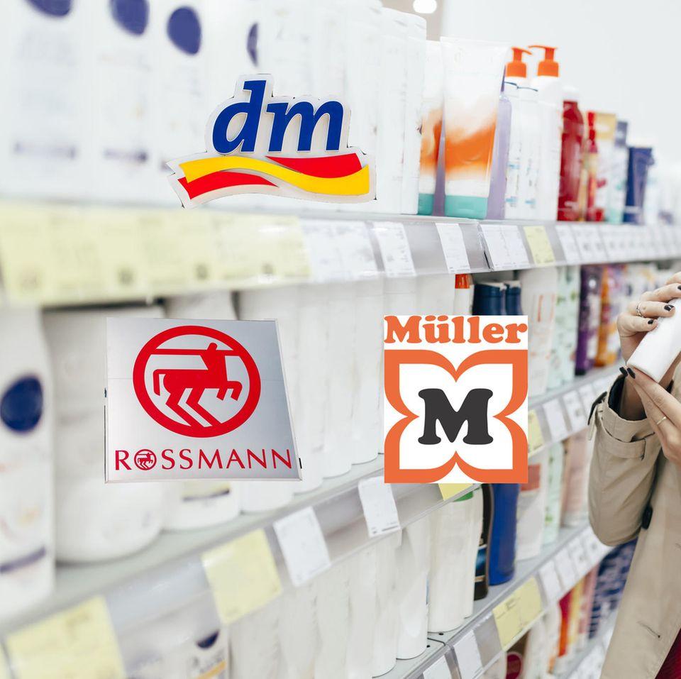 Drogerietest: dm, Rossmann, Müller - wer ist am besten?