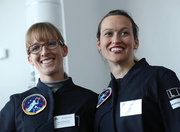 Wer wird die erste deutsche Astronautin?