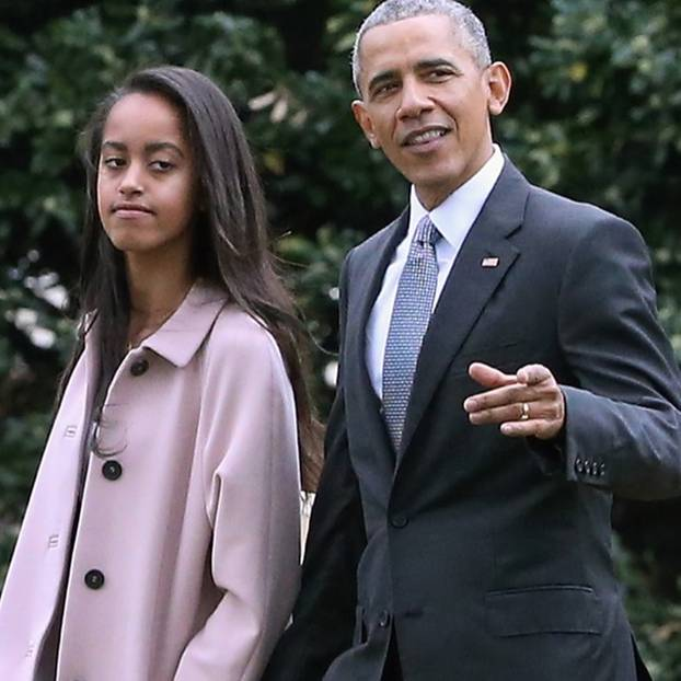 Malia Obama hat einen Stalker