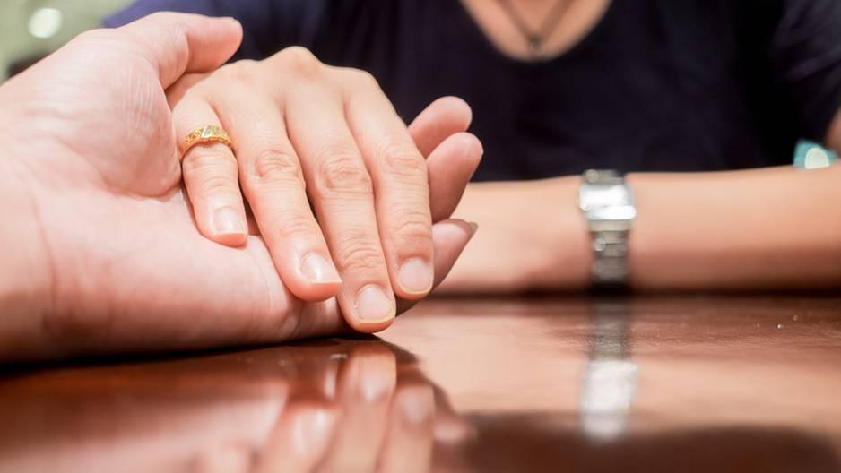 Hand, Goldring, Kleiner Finger