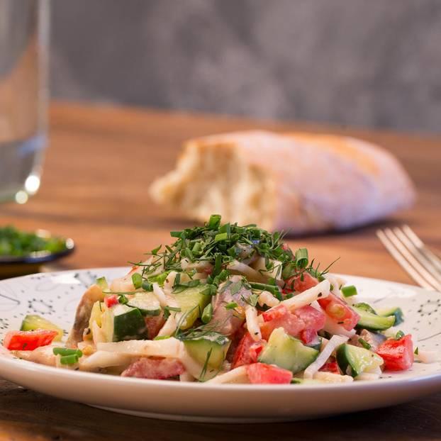 Salate: Salatrezepte für Genießerinnen