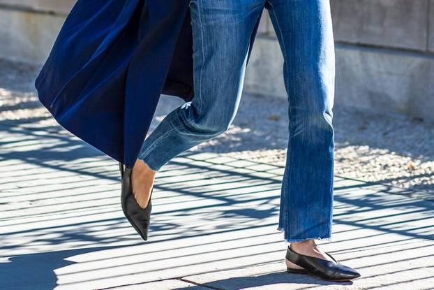 Vokuhila-Jeans sind jetzt out