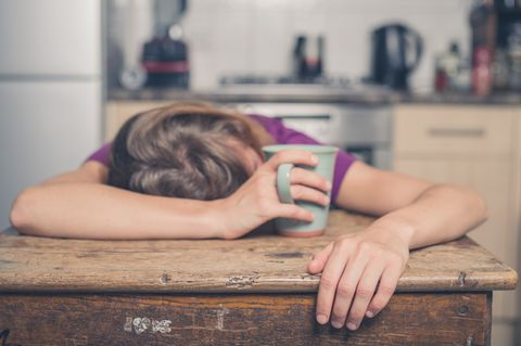 Tagsüber müde