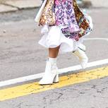 Blogger tragen sie auch: weiße Stiefel