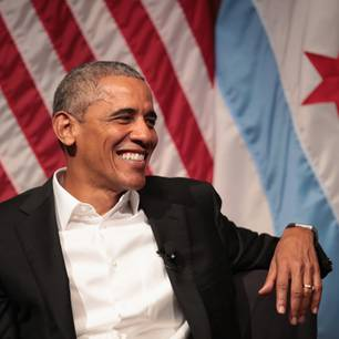 Barack Obama in Chicago