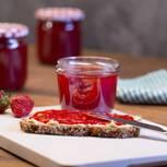 fruchtige Marmelade mit Erdbeer-Vanille-Geschmack