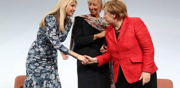 Ivanka Trump, Merkel, Lagarde