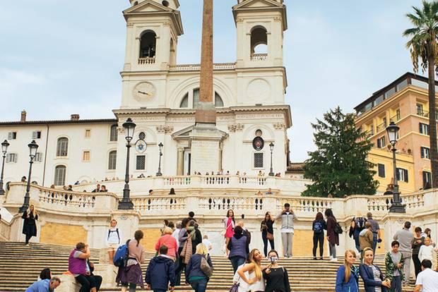 Familienurlaub: Drei Jungs erobern Rom