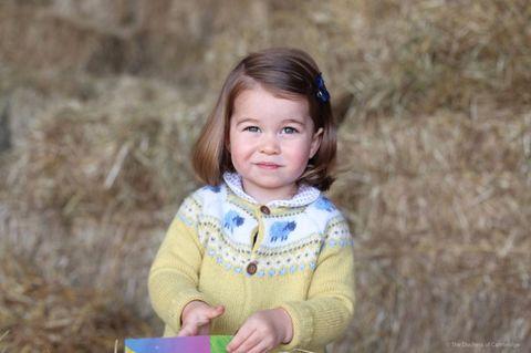 Zuckersüße Bilder! Prinzessin Charlotte hatte ihren 1. Kindergarten-Tag