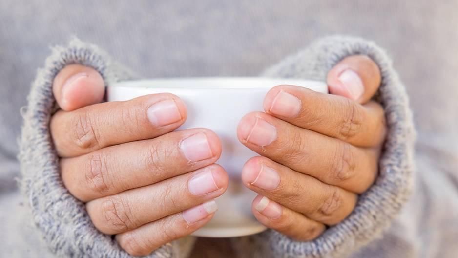 Kalte Hände: Ursachen und was dagegen hilft