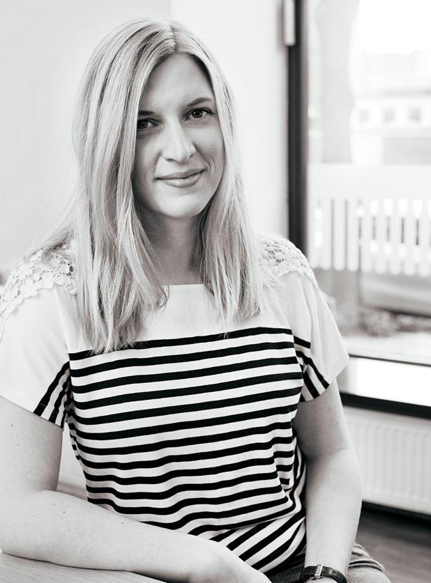 """Tatje Schaber, 31, Marktforscherin aus Hamburg """"Zu uninspiriert, zu nett..."""" Tatje wollte Rock'n'Roll in ihr feines Haar bekommen – und ist vom Ergebnis """"sehr angetan""""."""