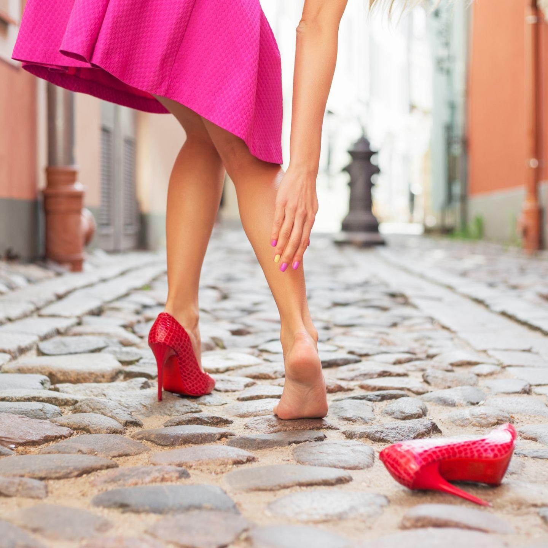 Frau mit High Heels