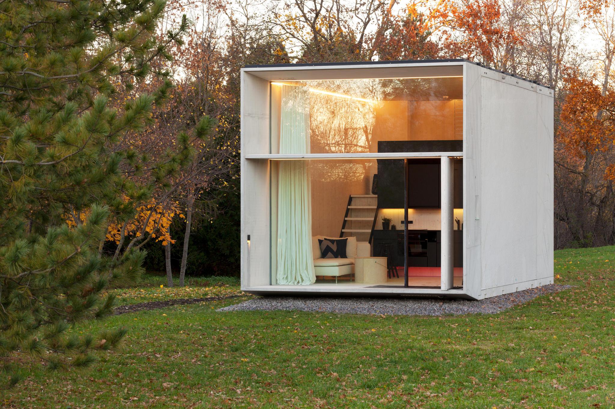 mini haus dieser kuschel w rfel ist ein wohntraum. Black Bedroom Furniture Sets. Home Design Ideas