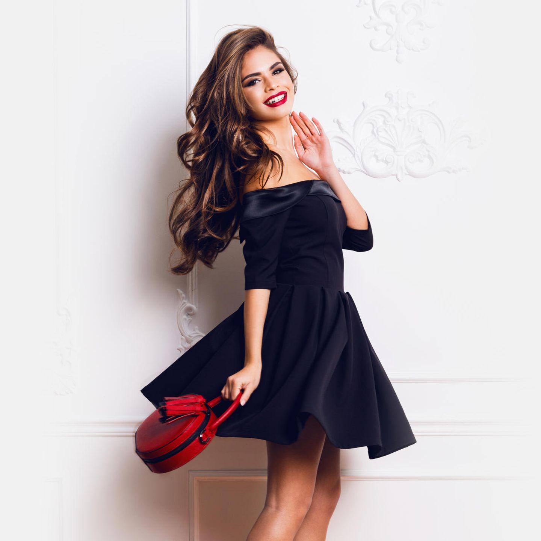 Schwarze Kleider für Hochzeitsgäste: Stylisch oder No-Go  BRIGITTE.de