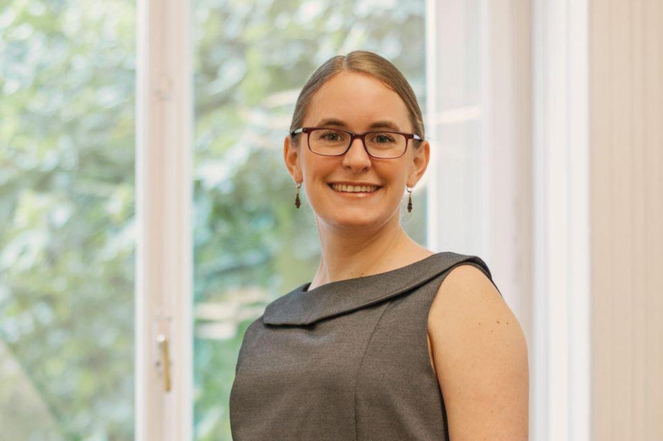 Debattiermeisterin Marietta Gädeke