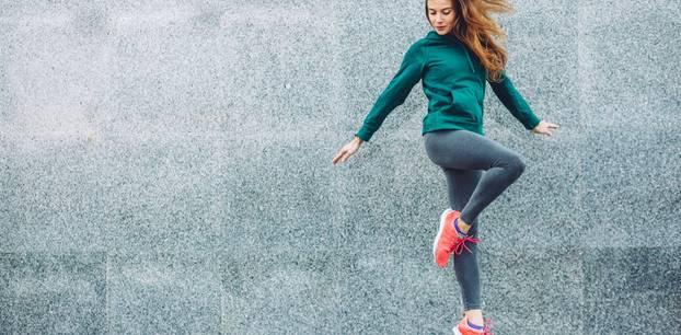 Sportmode, die für Motivation sorgt