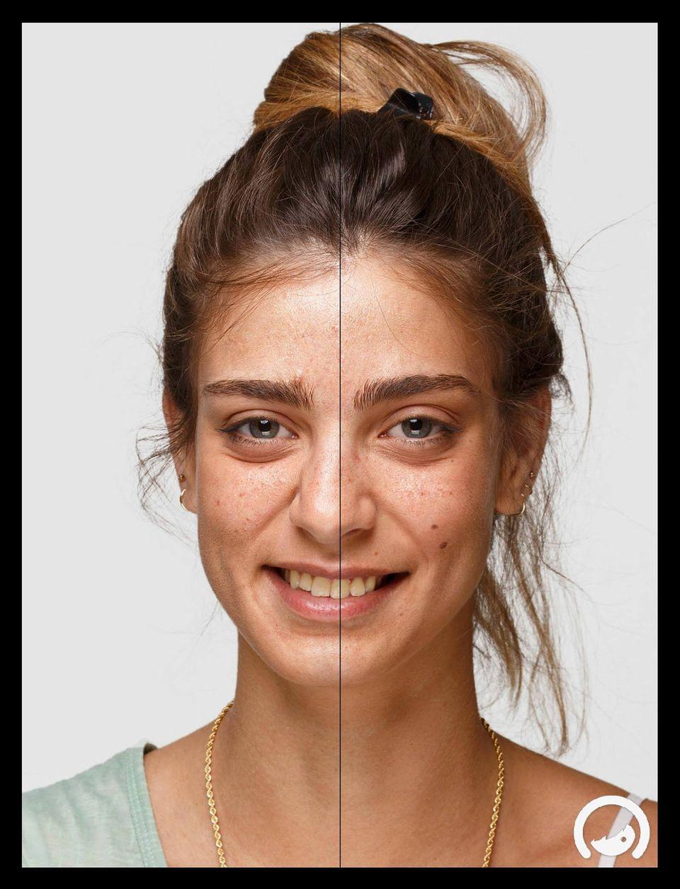 Wie würden uns Männer schminken?