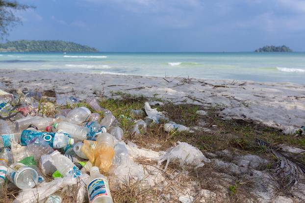 Plastikmüll auf Südsee-Insel