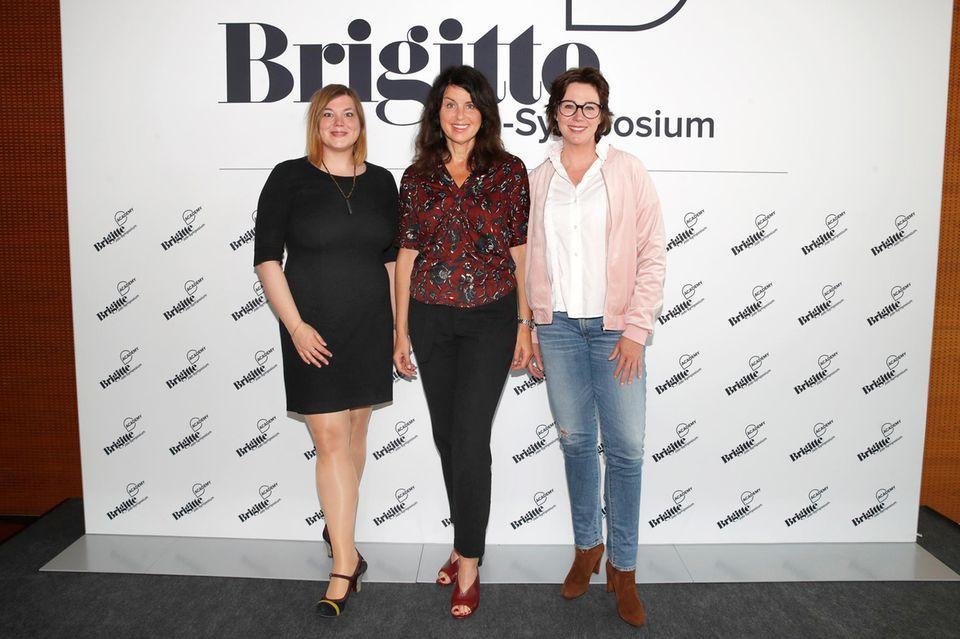 Brigitte-Job-Symposium: Katharina Fegebank, Brigitte Huber, Ildikó von Kürthen
