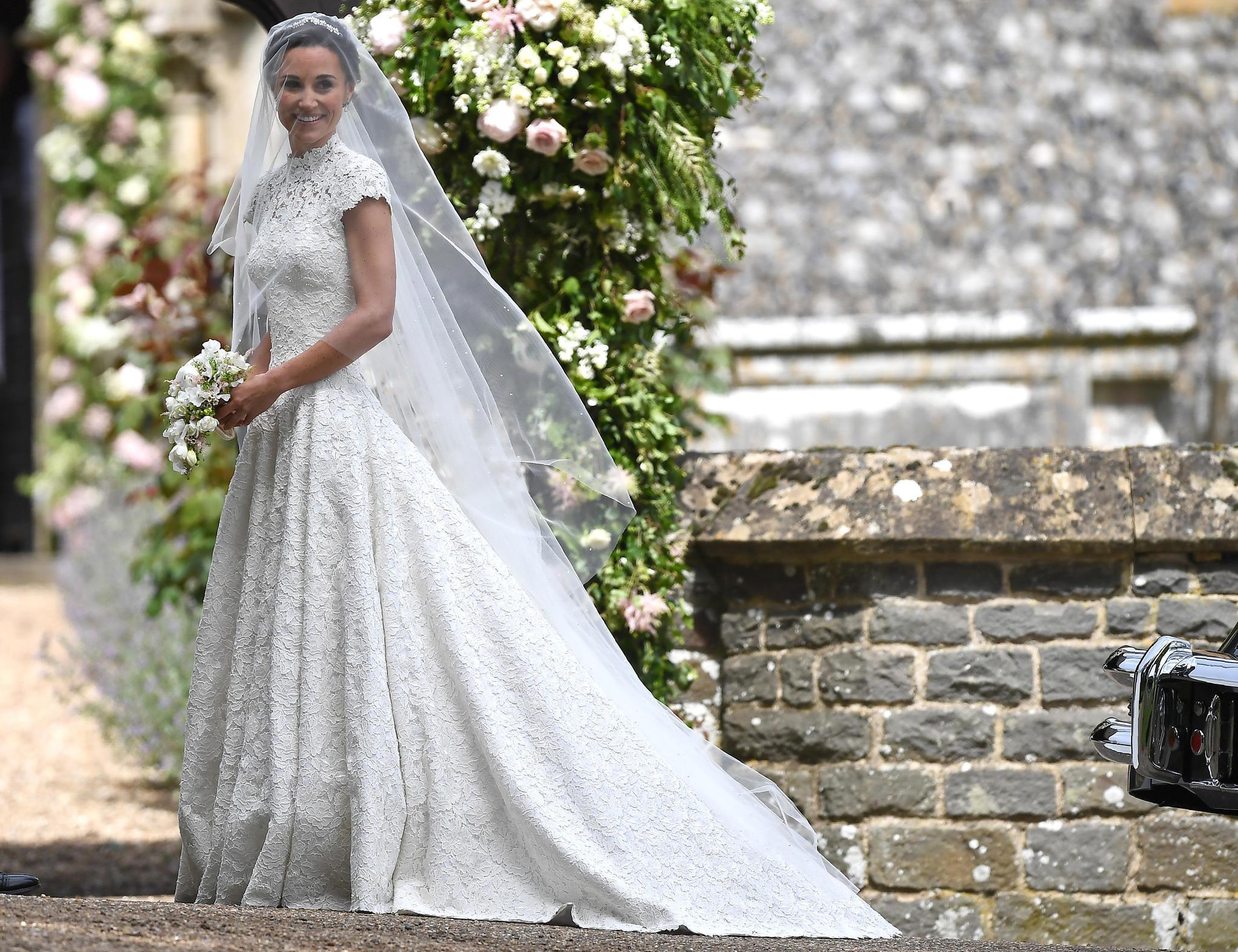 Brautkleid von Pippa Middleton: Günstige Alternativen für jeden ...