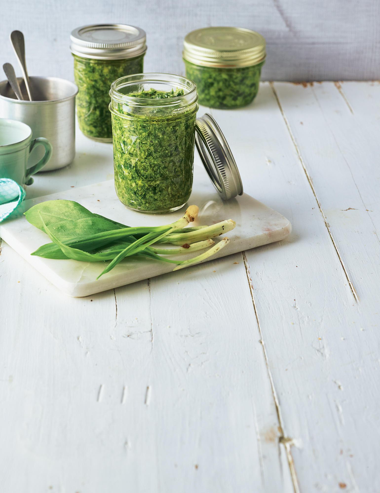 Bärlauch-Rezepte – grün und würzig
