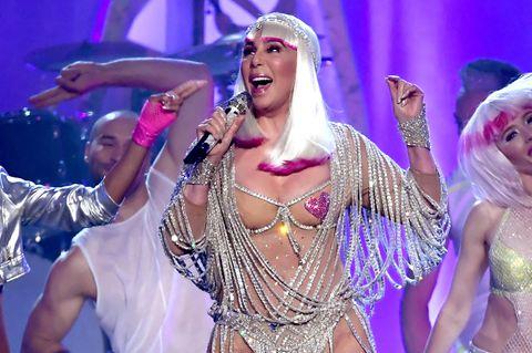 Sängerin Cher bei den Billboard Awards