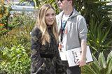 Elizabeth Olsen in einem Minikleid mit
