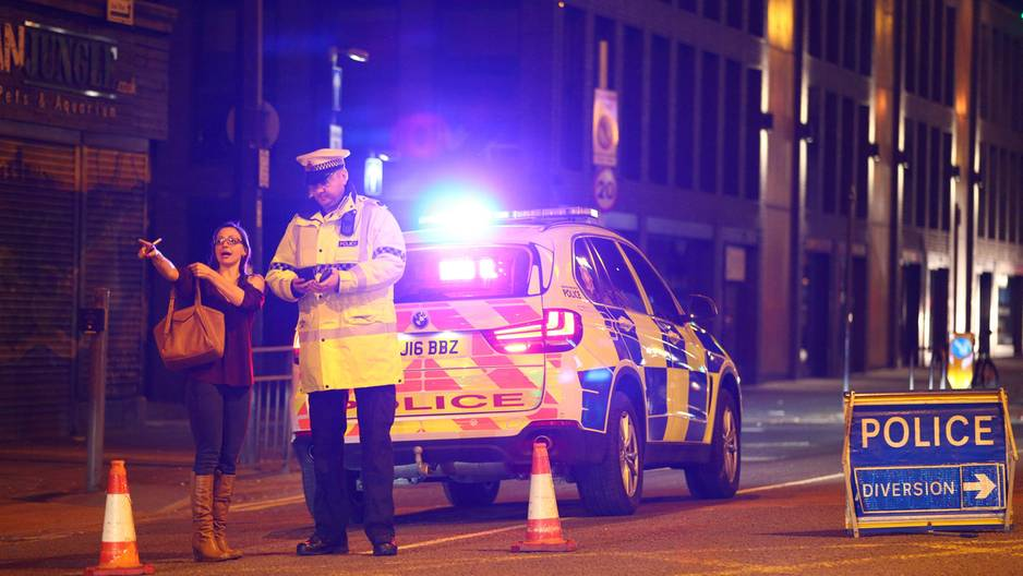 Explosion in Manchester