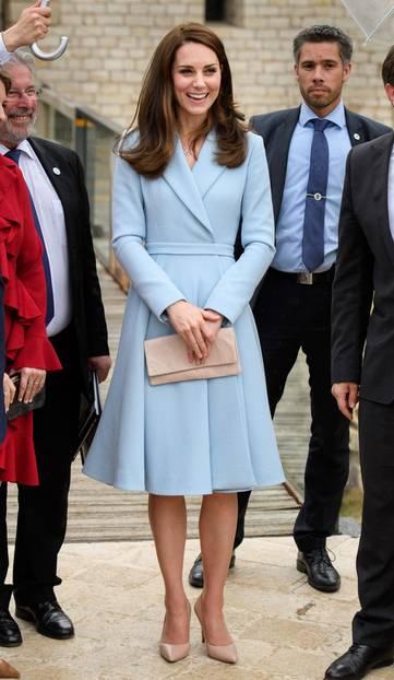 Kate Middleton So Sah Ihr Look Früher Aus Brigittede