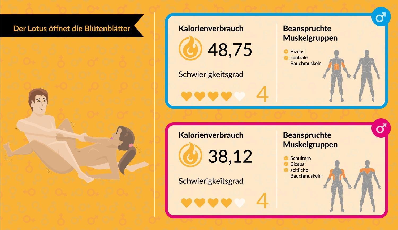 Sexstellungen, die Kalorien verbrennen!   BRIGITTE.de