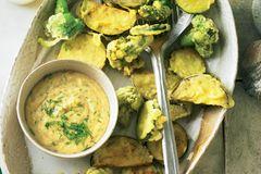 Frittiertes Gemüse