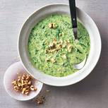 Gorgonzola-Spinat-Suppe