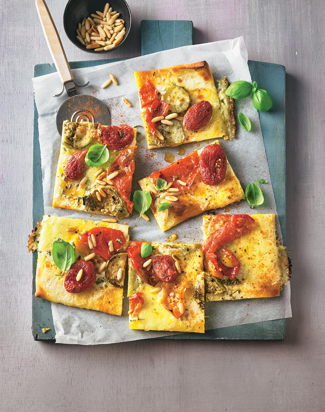 Antipasti-Pizza