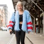 Leggings mit Schnürung auf der Fashion Week Australia 2017