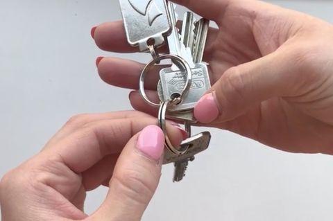 Mit diesem Trick bekommst du den Schlüssel ganz einfach vom Bund!
