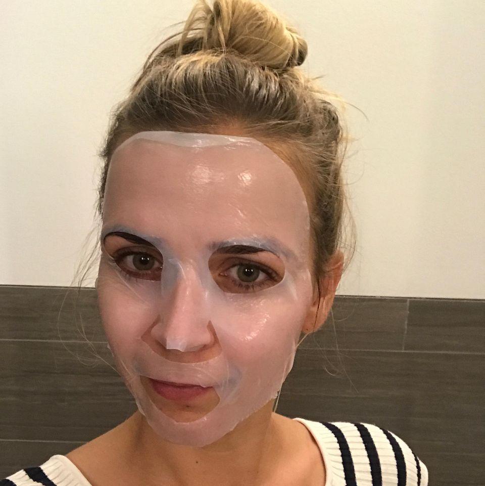 "Karo teste: ""Skinovage Cellulose Fase Mask  Hydrating"" von Babor"