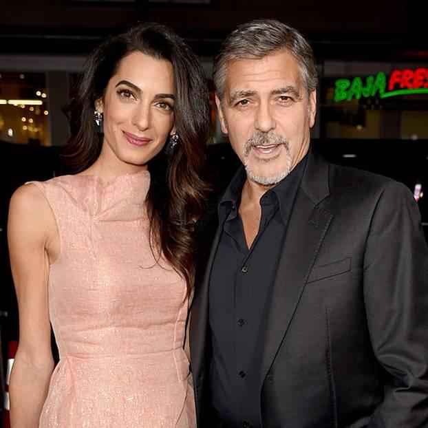 George Clooney und Amal sind Eltern von Zwillingen geworden