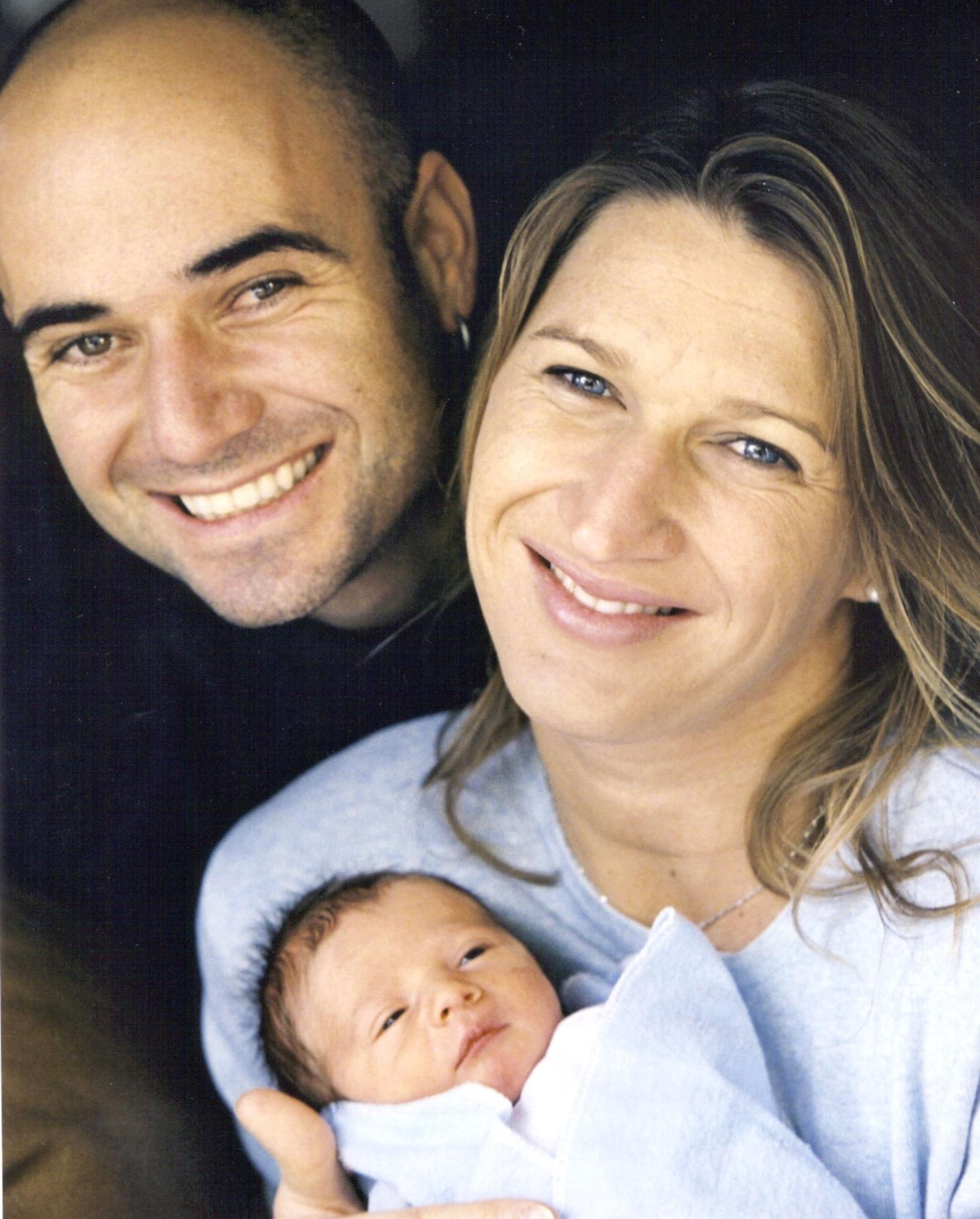 Steffi Graf Andre Agassi Sohn Jaden Ist Groß Geworden Brigittede