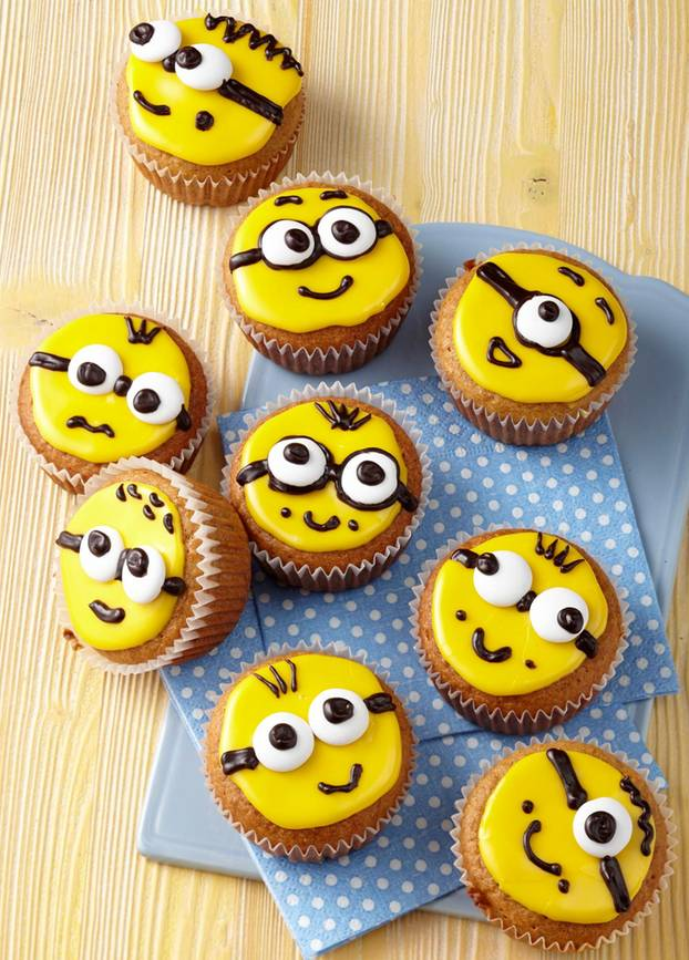 Minions Muffins selber backen: So geht's