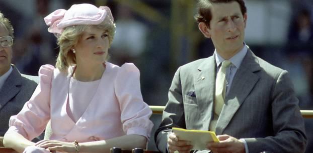 Prinzessin Diana und Prinz Charles führten keine glückliche Ehe.