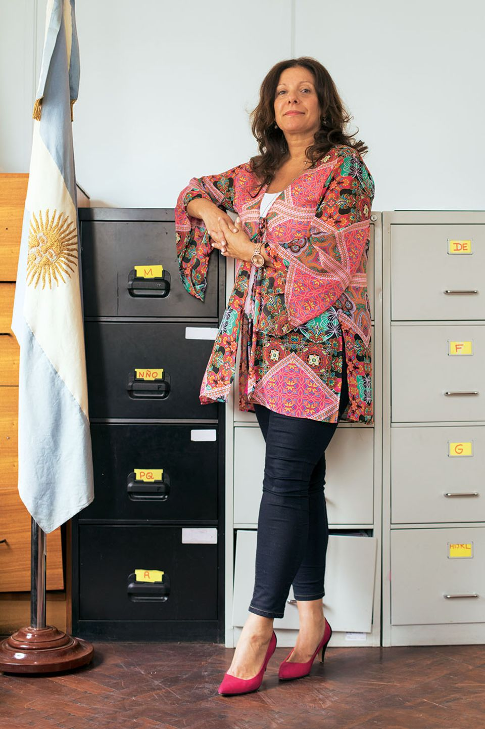 Staatsanwältin Mónica Cuñarro