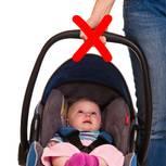 Babyschale tragen